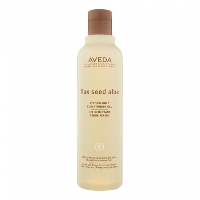 Aveda flax seed aloe strong hold sculpturing gel 250ml